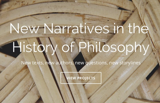 Risultati immagini per new narratives in the history of philosophy